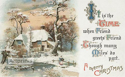 A Merry Christmas III - Art Print