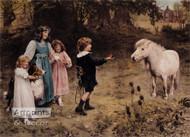 A Tempting Bait by Arthur J. Elsley - Art Print