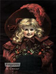 A Christmas Smile - Art Print
