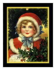 A Christmas Outfit - Framed Art Print