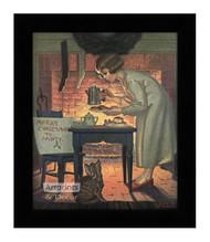 Merry Christmas to Santy - Framed Art Print