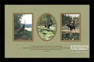 The Woods - Framed Art Print