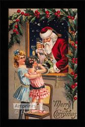 Merry Christmas II - Framed Art Print