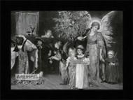 The Child's Dream of Christmas - Framed Art Print