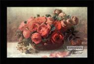 Roses in Bloom - Framed Art Print