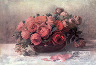 Roses in Bloom by Fenquick - Art Print
