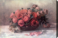 Roses in Bloom by Fenquick - Stretched Canvas Art Print