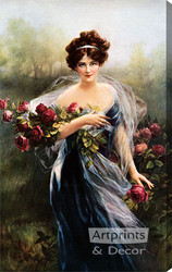 Goddess Of Summer by Zula Kenyon - Stretched Canvas Art Print