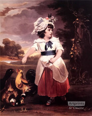 Country Miss - Stretched Canvas Art Print