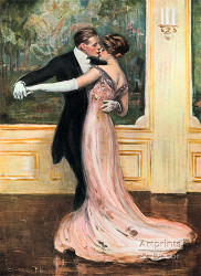 The Last Dance by Clarence Underwood - Art Print