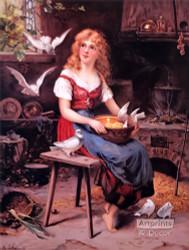 Cinderella by K. Schellbach - Art Print