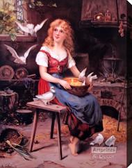 Cinderella by K. Schellbach - Stretched Canvas Art Print