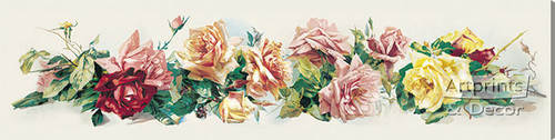 Art of Roses by Catherine Klein - Stretched Canvas Art Print