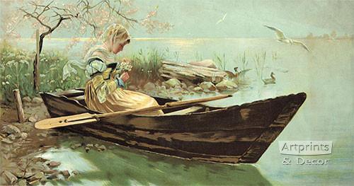 Sweet Reverie by H. Koch - Art Print