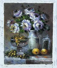 Lavender & Yellow Still Life - Art Print