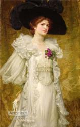 My Fair Lady by Sir Frank Dicksee - Art Print