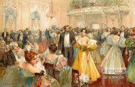 The Patriarch's Ball by W. Granville Smith - Art Print