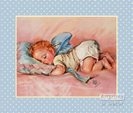 Fast Asleep by Maud Tousey Fangel - Art Print