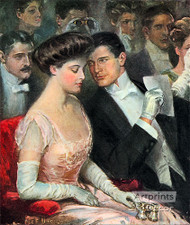 The Only Two At The Opera - Art Print