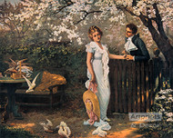 The Wooing - Art Print