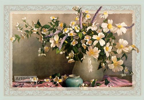 Orchid & White - Art Print