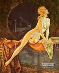 Persian Night by T. Hesser - Art Print