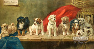 Puppy Class by WH Trood - Art Print