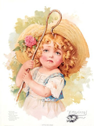 Little Bo Peep by Maud Humphrey - Art Print