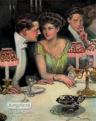 Three is a Crowd by Clarence Underwood - Art Print