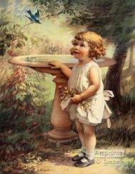 My Bluebird by Zula Kenyon - Art Print