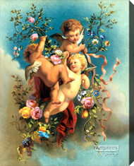 Cherubs - Stretched Canvas Art Print
