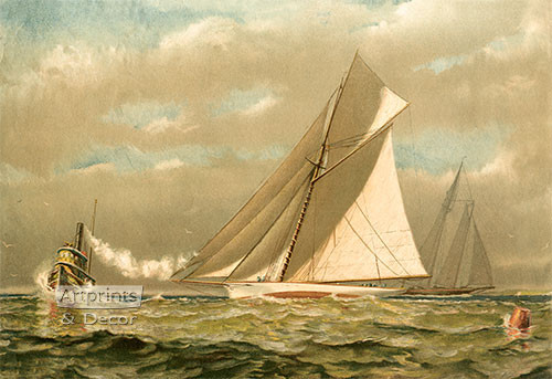 Sailing the Open Seas - Art Print