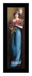 Christina (10 x 34) - Framed Art Print