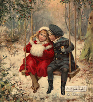 Winter Love - Art Print