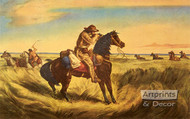 A check - Keep your distance by Currier & Ives - Art Print