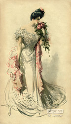 The Wedding Dress - Art Print