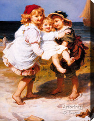 The Dandy Chair by Frederick Morgan - Stretched Canvas Art Print