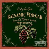 Balsamic Vinegar - Art Print