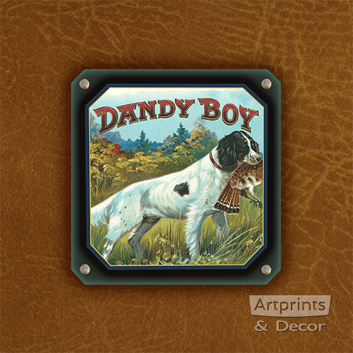 Dandy Boy Bird Dog - Art Print
