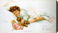 The New Love by Bessie Pease Gutmann – Stretched Canvas Art Print