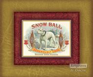 Snow Ball - Art Print