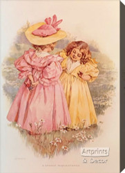 Chance Acquaintance by Maud Humphrey - Stretched Canvas Art Print