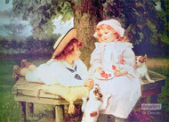 Playmates by Frederick Morgan - Art Print