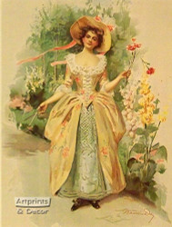 Springtime by Francis Day - Art Print