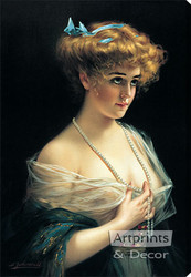 Belle by B. Zickendraht - Stretched Canvas Art Print