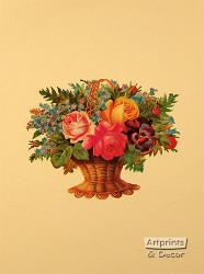 Victorian Floral XI - Art Print