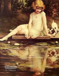 Reflections by Adelaide Hiebel - Art Print