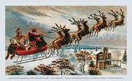 Santa Called Them by Name - Art Print