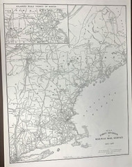 US Railroads Reproduction Maps 1905-1908