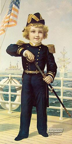 The Little Admiral - Art Print